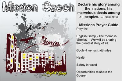 Missions prayer guide