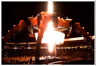 U2 live in Glasgow