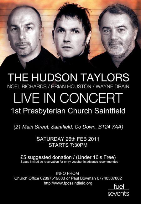 Hudson taylors poster saintfield