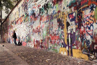 Lone busker lennon wall v2