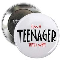 Im_a_teenager_button