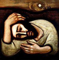 Christ in Agony Michael O'Brien